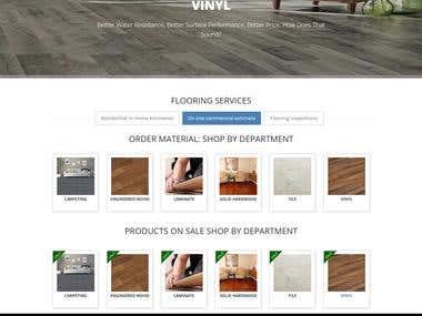 Texas Flooring E Commerce Store