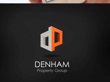 Custom logo design for a property company