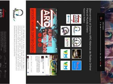 Radio website