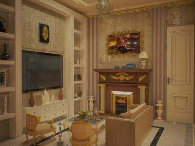 Modern House Interior Design - Client From Qatar