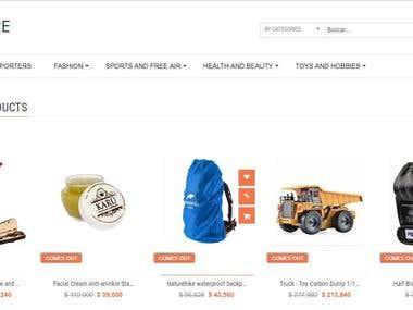 E-Commerce - Website similar to EBAY