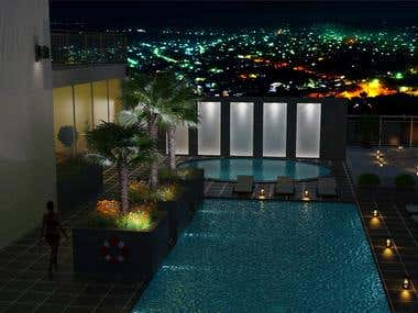 External Swimming Pool Design - Client From India