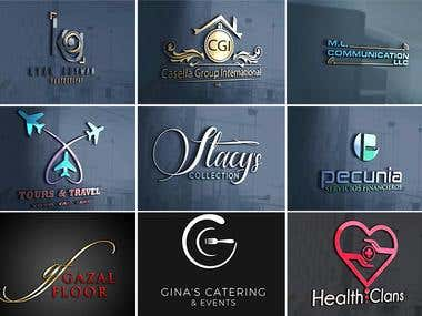 Logo / 3D logo / All types of logos
