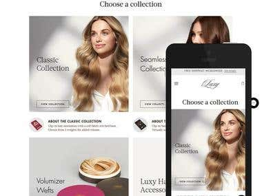Shopify: luxyhair