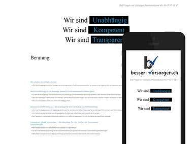 WordPress: besser-vorsorgen