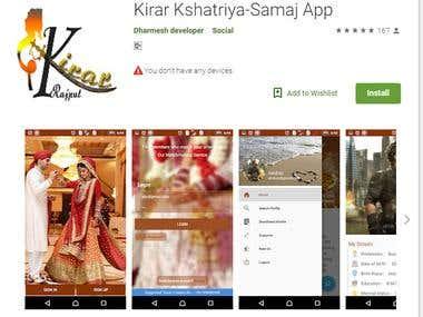 Matrimonial App.
