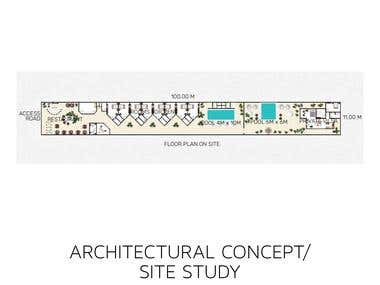 Architectural concept and site study