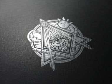 Masonic Lodge Symbol