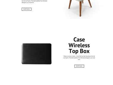 Industrial Design Website