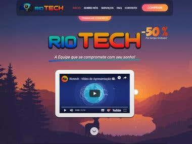 Webdesign da Riotech