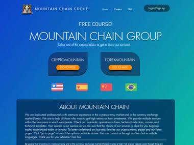 Site da Mountain Chain Group