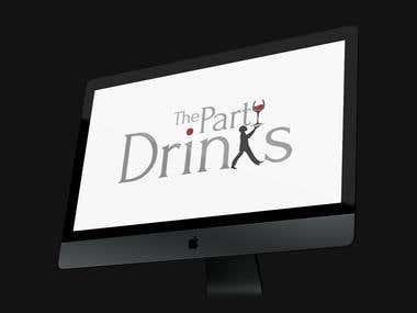 Logotipo The Party Drinks
