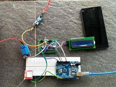 Arduino based Automatic Irigiation