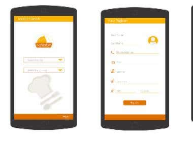 Mobile Application Development Screenshot