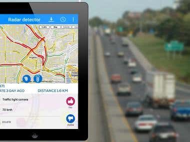 Mobile App Development (Traffic Radar Camera - LIVE Speed C)