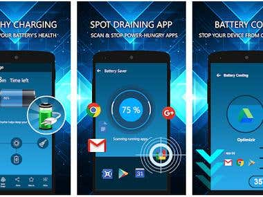 Mobile App Development (Battery Charger Fast : Mobile Bat)
