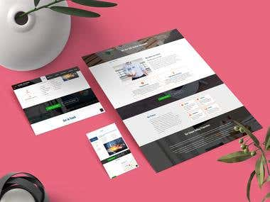 Web Design + WordPress Development