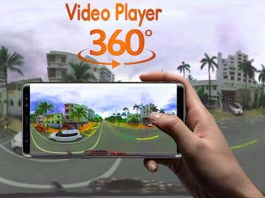 Mobile App Development (Video 360 Player Multimedia – SBS W)