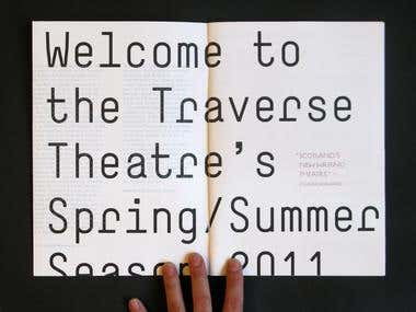 Traverse Theatre Brochure