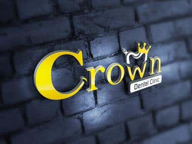 Crown Dental Clinic Identity
