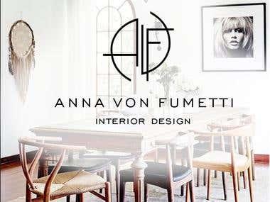 ANNA VON FUMETTI logo / branding