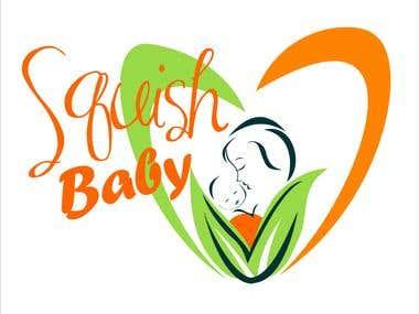 Squish Baby Logo