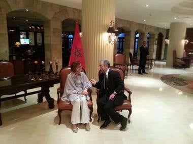 Entrevista en Lima con la Embajadora de Marruecos en el Perú
