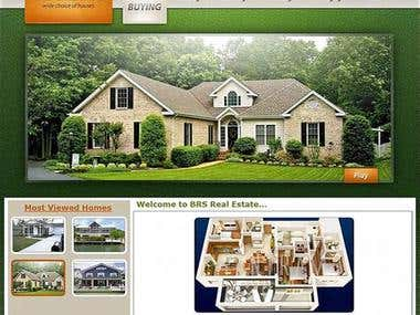 Online Estate Website - wordpress