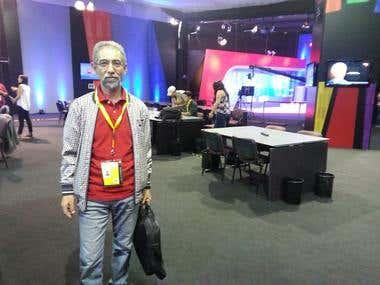 Sala de prensa- Servicio electoral (Servel) CHILE