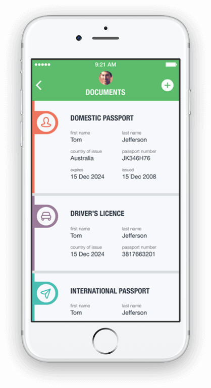 Travel App - Android & iPhone