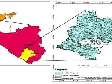 Preparation of Geospatial Map