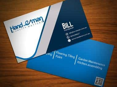 Handeman Business Card