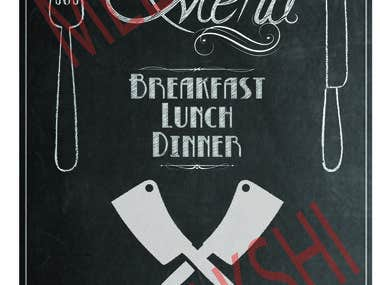 Price List Design (Menu Design)