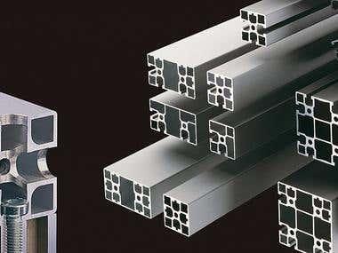 design Frame Profile Aluminum