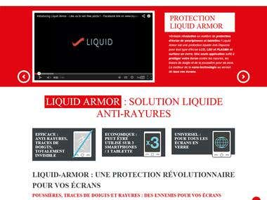 Liquid Armor - eCommerce Website