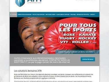ATR Gouttiere Dentaire Sur Mesure - Wordpress Website