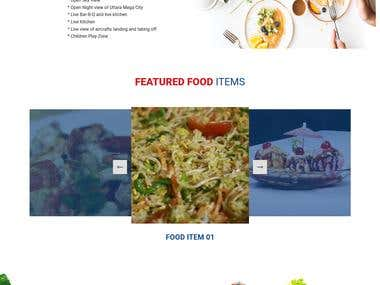 Royal Cuisine Restaurant website