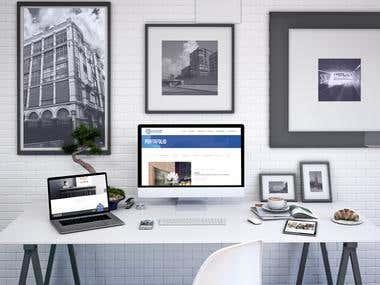 diseño de pagina web estudio de creativos