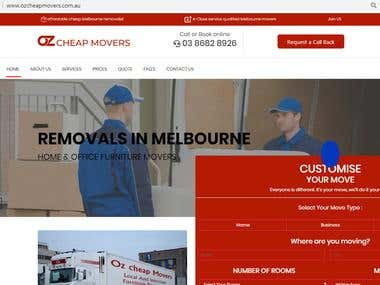 Movers and Packers Website