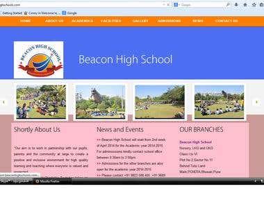 CMS School Website