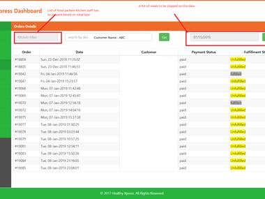 Order Management System Based on Subscription Basis