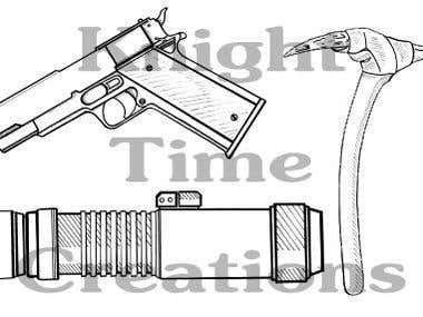 Technical and Line Drawings