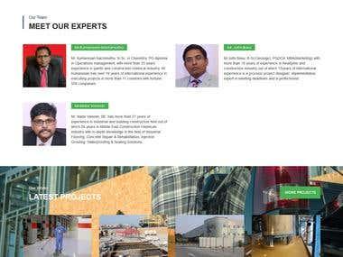 PetroCoat web site developement