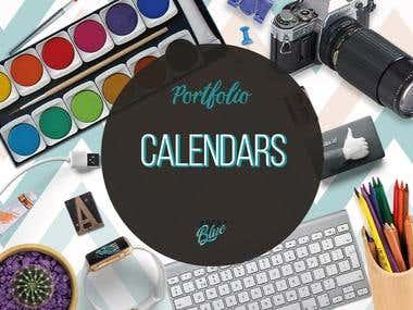 Calendar Planners 2018 -2019