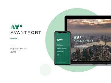 Avantport Consultancy - One Page Website