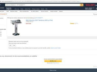 Amazon Scraping