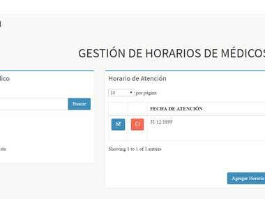 Gestion citas clinica