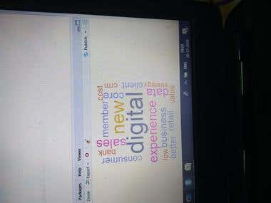 R word Cloud Project