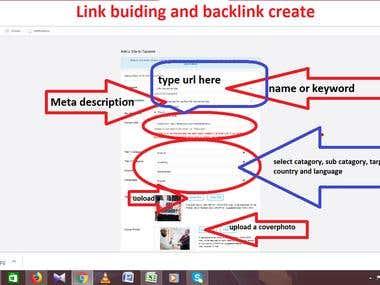 Back link create