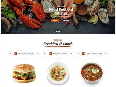 Website for Chef